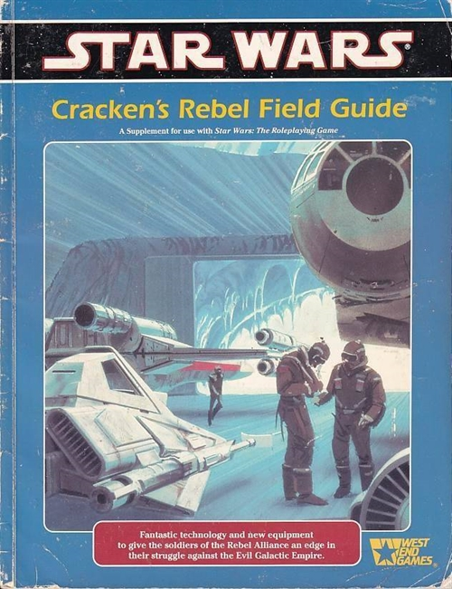 Star wars D6 - Crackens Rebel Field Guide (Genbrug)